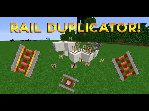 Minecraft 1.5+ Infinite Powered Rail Duplication Glitch (PC, Xbox, and PS3!) - Tutorial step by step