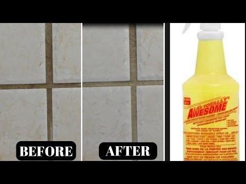 Cleaning Tip: How to Clean Tile Grout - Easy