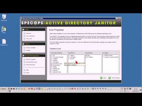 Specops Active Directory Janitor