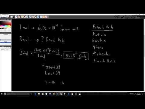 Formula Units and Moles