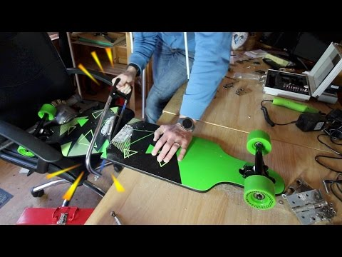 Making a folding longboard