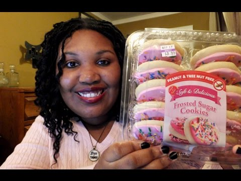 Create A Treat: Pink Frosted Sugar Cookies - Food Review 🍪