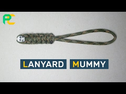 Paracord Lanyard Mummy