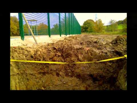 Rugby Synthetic Rhino Turf Sports Pitch Installation
