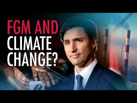 """Media silent as """"vacuous"""" PM equates FGM with climate change denial"""