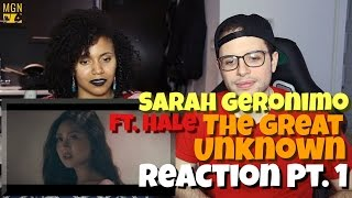 Sarah Geronimo - The Great Unknown (Ft. Hale) Reaction Pt.1
