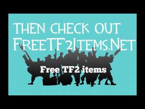 How to Get Free TF2 items (hats, weapons, keys)