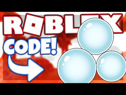 *NEW* BUBBLES EFFECT CODE | Roblox The CrusheR