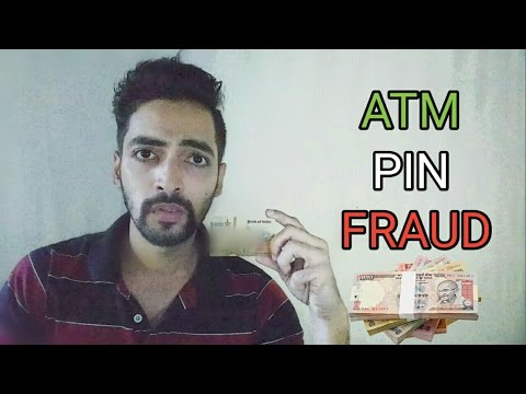 ATM Pin Fraud - [MUST WATCH]