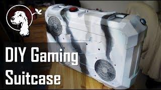 Download DIY Gaming Suitcase / Portable Gaming PC Video