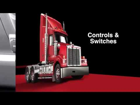 012 T610 Driver Training switches & controls