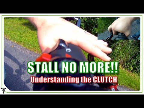 How NOT to STALL a Motorcycle | Using the CLUTCH