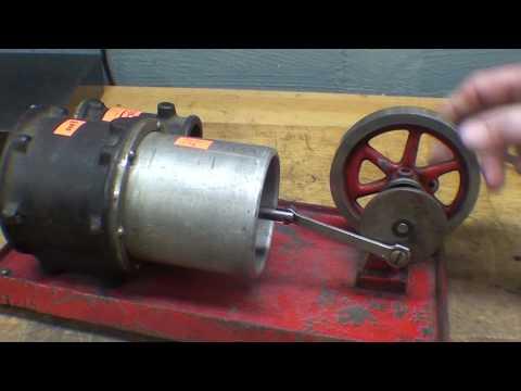 Rebuilding an EMPIRE Hot Air Engine 1 of 3 tubalcain mrpete222