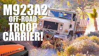 THOR: The M923A2 Military 5 Ton 6x6 Off-Road Troop Carrier
