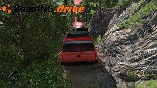 BeamNG drive - PULANDO PARA PEGAR O CHECKPOINT.