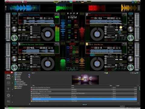 New Virtual DJ V7 Pro Skin Pioneer August 2012