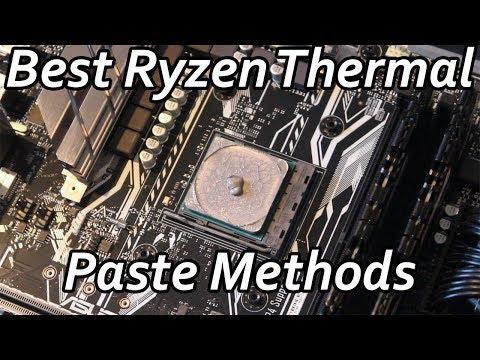 Best Ryzen Thermal Paste Application Methods