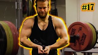Back, shoulders and triceps 220 kg  485 lbs Deadlift Joby Update Box Opening Episode 17