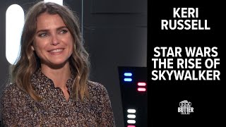 Star Wars Pillow Talk with Keri Russell: The Rise of Skywalker Interview | Extra Butter