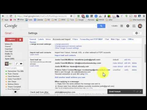 Using Gmail to send email with your own domain
