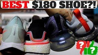 Best $180 Shoe? Nike Pegasus Turbo Vs Ultraboost 19 Vs Air Max 720 Vs Air Vapormax 19!
