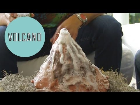 Make a Volcano - ModernMom's Dad Space