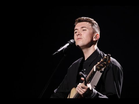 Ryan O'Shaughnessy performs 'Together' at Eurovision 2018 | RTÉ One