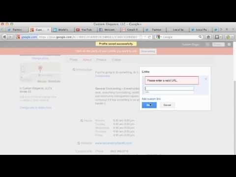 Enhance Google Plus Brand Page: Google+ Brand Business Pages Tutorial