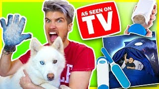 TESTING WEIRD AS SEEN ON TV PRODUCTS!   Do They Really Work?!