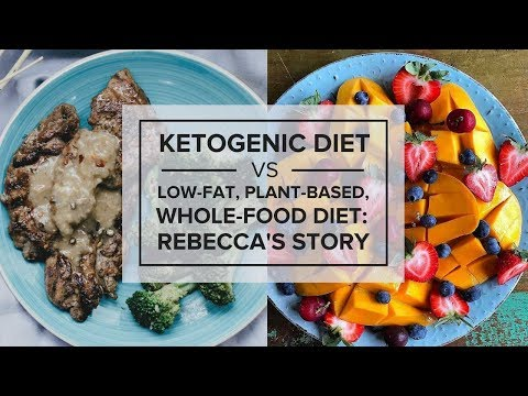 Ketogenic Diet vs. Low-Fat, Plant-Based, Whole-Food Diet for Type 1 Diabetes: Rebecca's Story