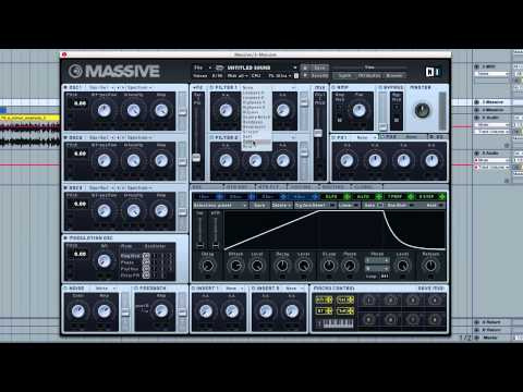 How to Create a Rising Synth Effect in MASSIVE