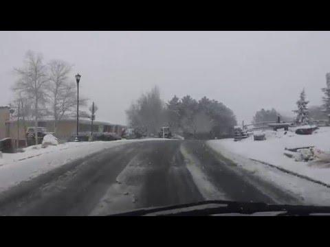 Utah Snow Driving Fail