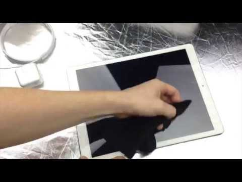 iPad Pro Screen Protector - How to Install the easy way, 32gb 128gb 12.9
