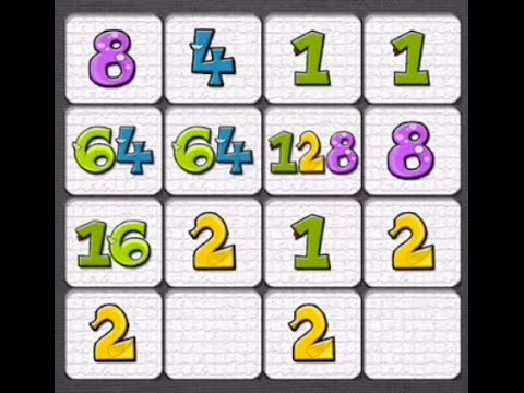 Win '1024' Game (old 2048) : Tips & Tricks / Demonstration / Cheats