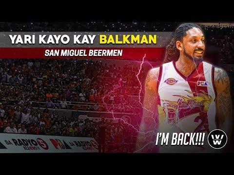 Renaldo Balkman, Maglalaro na sa San Miguel Beermen | Balkmania + SMB