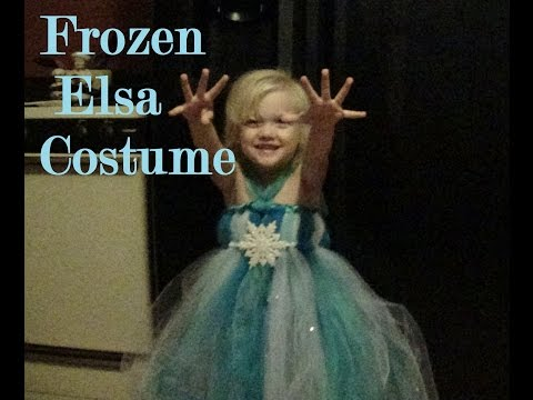 DIY Frozen Elsa costume