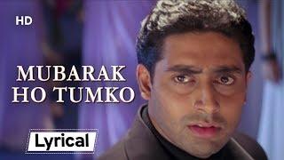 Mubarak Ho Tumko With Lyrics   मुबारक हो तुमको   Haan Maine Bhi Pyaar Kiya (2002)   Akshay Kumar