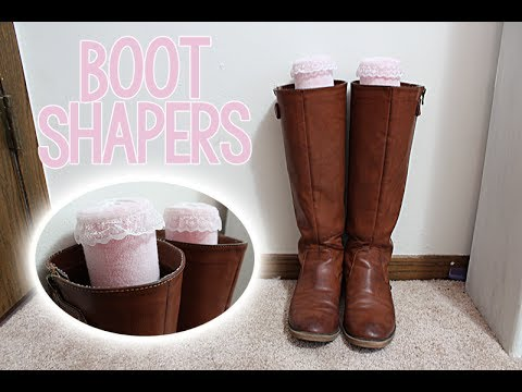 DIY: Boot Shaper (NO-SEW)