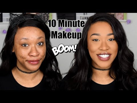 GET READY FAST! AFFORDABLE QUICK SLAY MAKEUP