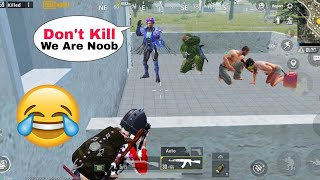 Noobs Are Best Friends 😝🤣   PUBG MOBILE FUNNY MOMENTS