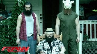 The Wyatt Family sends a cryptic message to the WWE Universe: Raw, Sept. 29, 2014