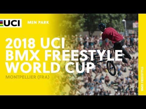 2018 UCI BMX Freestyle World Cup - Montpellier (FRA) / Men Park