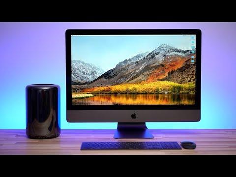 2013 Mac Pro vs iMac Pro - Benchmarks & Specs (Part 1)