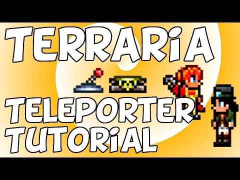 Terraria 1.3 - Teleporter Tutorial (Useful and Easy!)