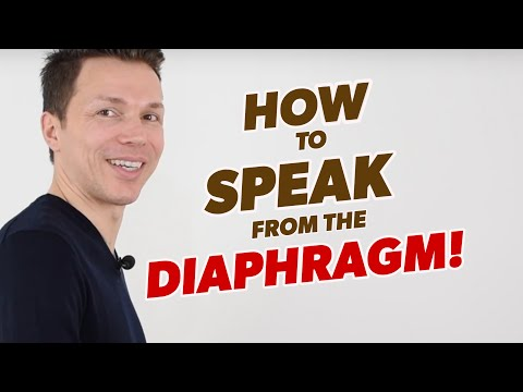 Simplest Way To Make Your Voice More Attractive & Powerful | How To Speak From The Diaphragm