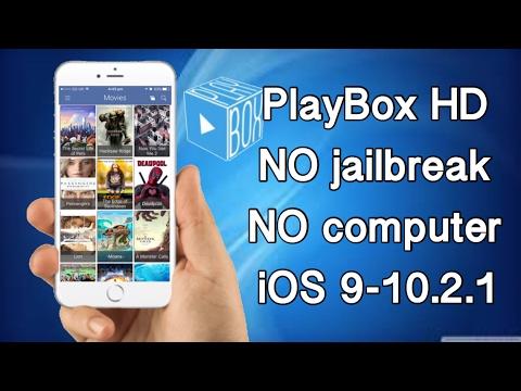 PlayBoxHD - NO jailbreak and NO computer on iOS 9-10.2.1 FREE install February 2017