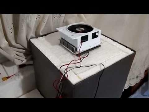 Homemade Camping Refrigerator Peltier 70W