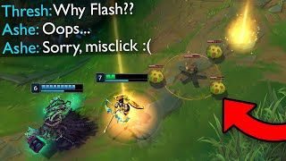 """15 Minutes """"SUPER LUCKY MOMENTS"""" in League of Legends"""