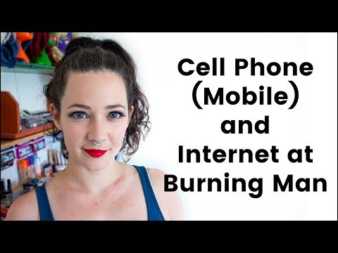 Cell/Mobile Phone & Internet/Wifi Coverage at Burning Man