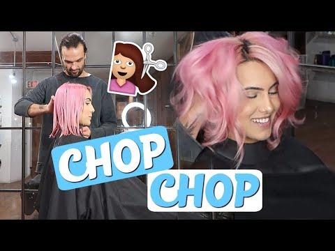 Chopping all my hair off and skiing fail | BodmonZaid